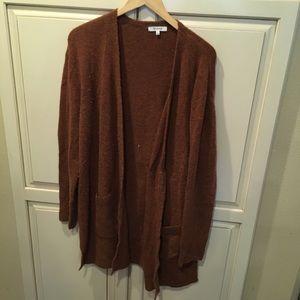 Madewell cardigan sweater shawl merino wool L